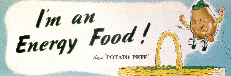 Home Sweet Home Front - 'Potato Pete' Image