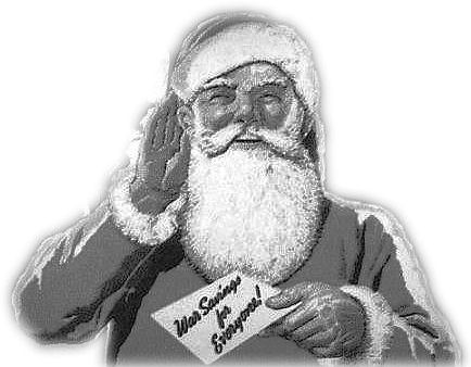 Home Sweet Home Front - Santa Image 1940s